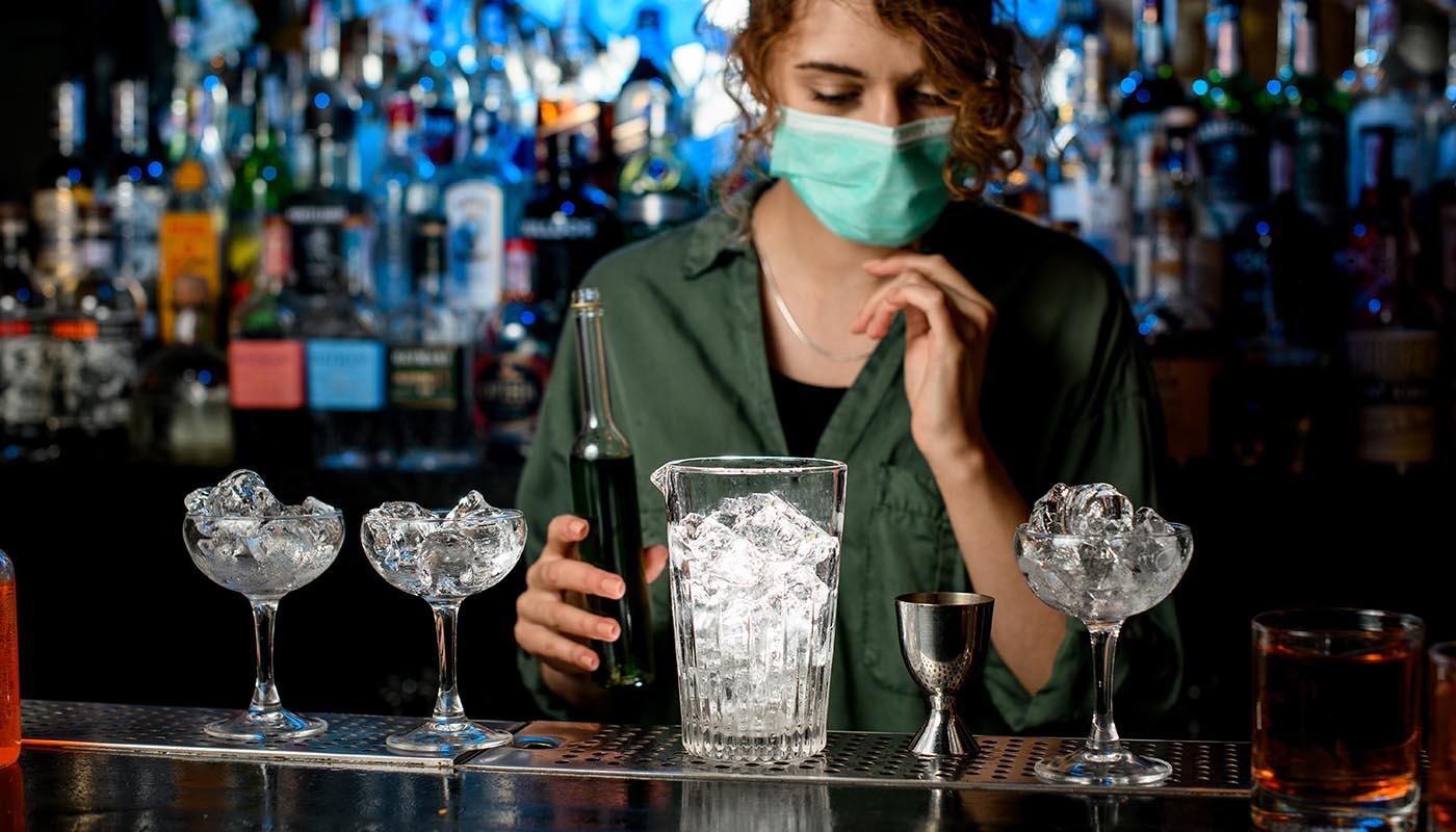 glazen preventieschemren voor horeca